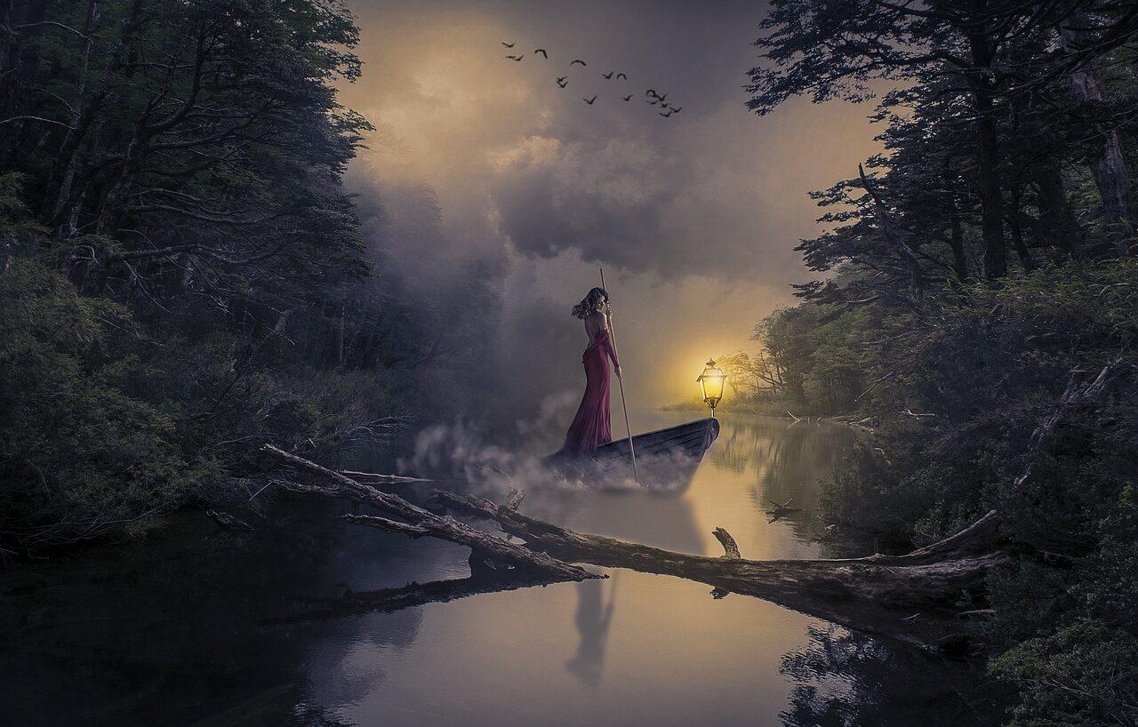 Generosa e voluttuosa dea dell'acqua